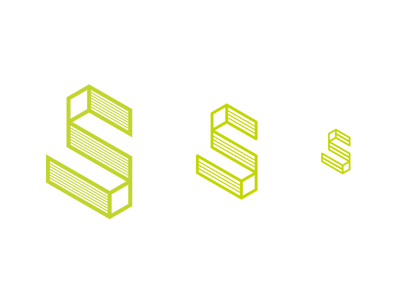 Superstroj studio logo and visual identity