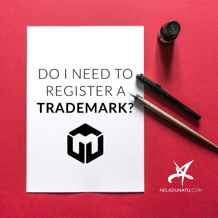 Do I need to register a trademark with my logo and business name?