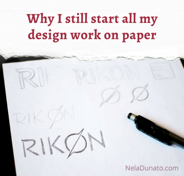 Why I still start all my design work on paper