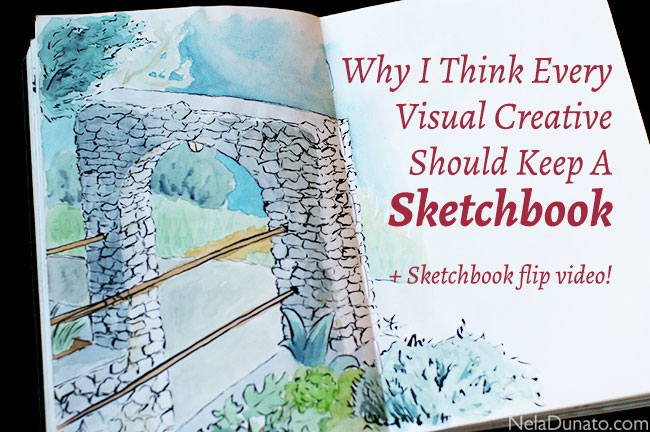 Why I Think Every Visual Creative Should Keep A Sketchbook