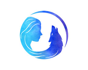 Wild Moon Spirit logo design