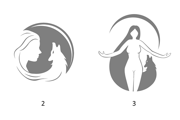 Third round of logo drafts