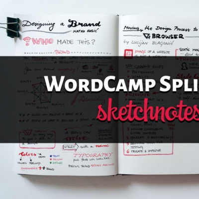 WordCamp Split 2016 Conference Sketchnotes