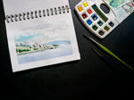 The Zen of Watercolor: Practice in releasing perfectionism